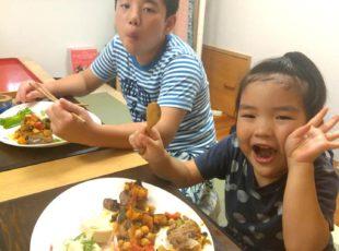 お野菜をどうしたら大量に食べさせられるかは?!(子ども料理昭和町クラス)